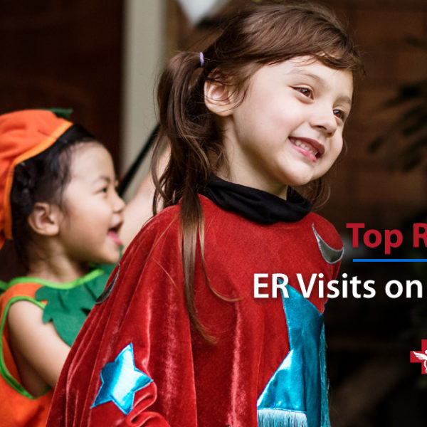 Top Reasons for ER Visits on Halloween