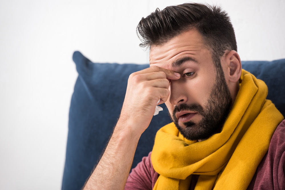 complications from the flu sinus infection