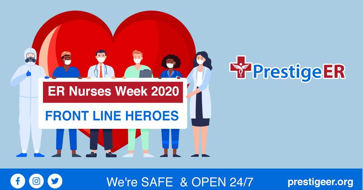 ER Nurses Week - Front Line Heroes During COVID-19