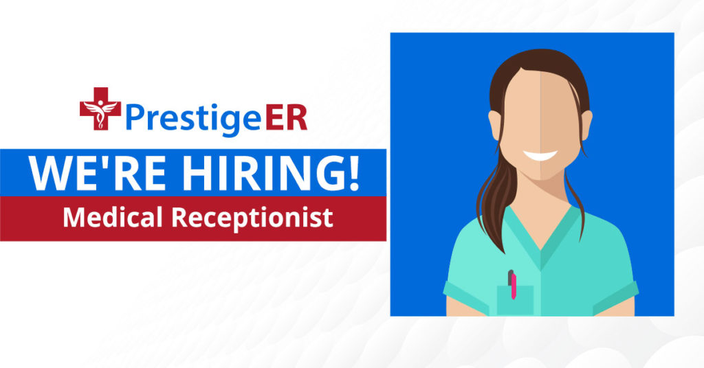ER Careers medical receptionist emergency room plano texas
